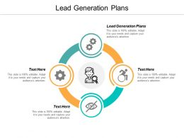 Lead Generation Plans Ppt Powerpoint Presentation Portfolio Slide Cpb