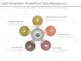 Lead Generation Powerpoint Slide Background