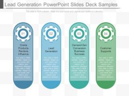 Lead Generation Powerpoint Slides Deck Samples