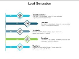 Lead Generation Ppt Powerpoint Presentation Infographic Template Topics Cpb