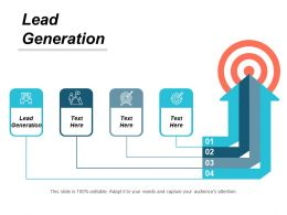 Lead Generation Ppt Powerpoint Presentation Styles Slides Cpb