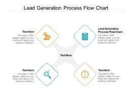 Lead Generation Process Flow Chart Ppt Powerpoint Presentation Summary Background Images Cpb