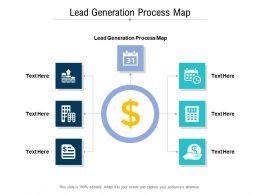 Lead Generation Process Map Ppt Powerpoint Presentation Slides Example Introduction Cpb