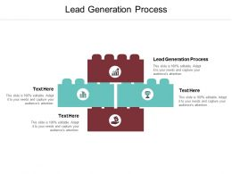 Lead Generation Process Ppt Powerpoint Presentation Gallery Grid Cpb