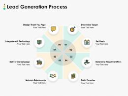 Lead Generation Process Ppt Powerpoint Presentation Show File
