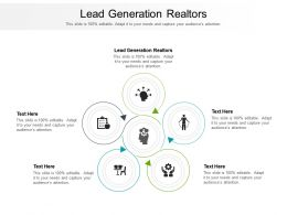 Lead Generation Realtors Ppt Powerpoint Presentation Show Slide Cpb