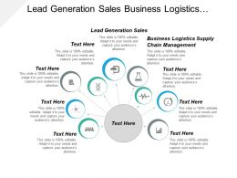 Lead Generation Sales Business Logistics Supply Chain Management Cpb