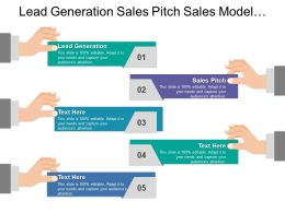 Lead Generation Sales Pitch Sales Model Number Type