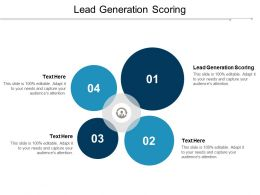 Lead Generation Scoring Ppt Powerpoint Presentation Gallery Smartart Cpb