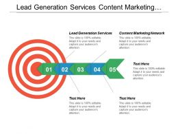 Lead Generation Services Content Marketing Network Marketing Management Cpb