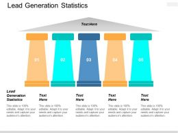 Lead Generation Statistics Ppt Powerpoint Presentation Layouts Example Cpb