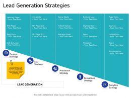 Lead Generation Strategies Prospects Ppt Powerpoint Presentation File Portfolio