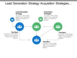 Lead Generation Strategy Acquisition Strategies Leadership Ability Cpb