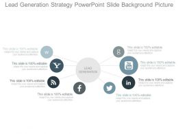 Lead Generation Strategy Powerpoint Slide Background Picture