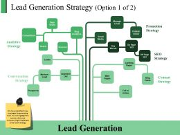 Lead Generation Strategy Powerpoint Slide Themes