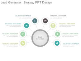 Lead Generation Strategy Ppt Design