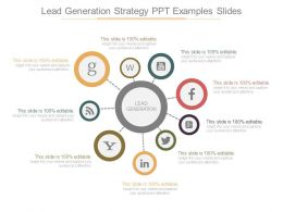 Lead Generation Strategy Ppt Examples Slides