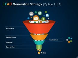 Lead Generation Strategy Ppt Icon Inspiration