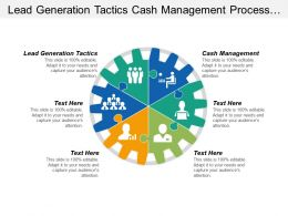 Lead Generation Tactics Cash Management Process Quality Improvement Cpb