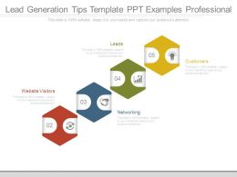 Lead Generation Tips Template Ppt Examples Professional