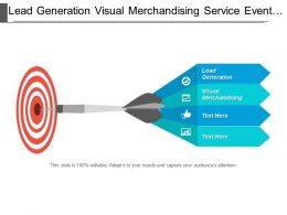 Lead Generation Visual Merchandising Service Event Management Market Value Cpb