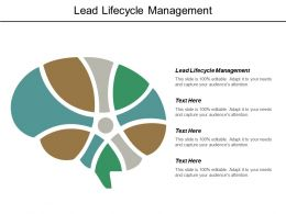 Lead Lifecycle Management Ppt Powerpoint Presentation Pictures Backgrounds Cpb