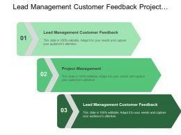 Lead Management Customer Feedback Project Management Problem Management