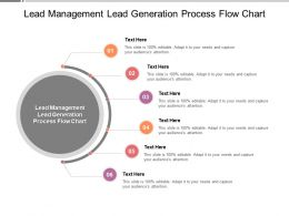 Lead Management Lead Generation Process Flow Chart Ppt Powerpoint File Cpb
