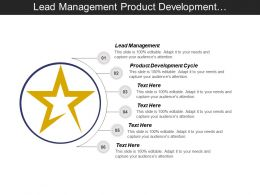 Lead Management Product Development Cycle Business Development Opportunities Cpb
