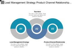 Lead Management Strategy Product Channel Relationship Target Audience Cpb