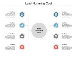 Lead Nurturing Cost Ppt Powerpoint Presentation Styles Graphics Example Cpb