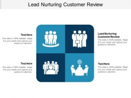 Lead Nurturing Customer Review Ppt Powerpoint Presentation Show Slide Cpb
