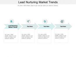 Lead Nurturing Market Trends Ppt Powerpoint Presentation Show Slide Download Cpb