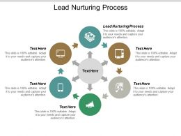 Lead Nurturing Process Ppt Powerpoint Presentation Pictures Visual Aids Cpb