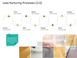 Lead Nurturing Processes Build M2628 Ppt Powerpoint Presentation Professional Graphics