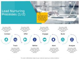 Lead Nurturing Processes Engage M2660 Ppt Powerpoint Presentation Outline Tips