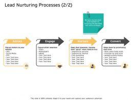 Lead Nurturing Processes Persona M2629 Ppt Powerpoint Presentation Icon Skills