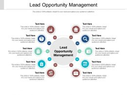 Lead Opportunity Management Ppt Powerpoint Presentation File Background Designs Cpb