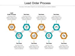 Lead Order Process Ppt Powerpoint Presentation Show Template Cpb