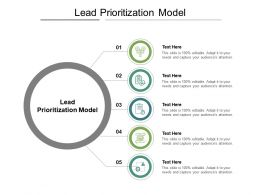 Lead Prioritization Model Ppt Powerpoint Presentation Model Professional Cpb