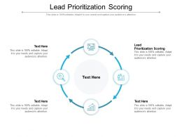 Lead Prioritization Scoring Ppt Powerpoint Presentation Layouts Graphics Cpb