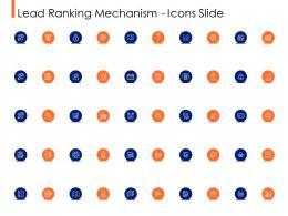 Lead Ranking Mechanism Icons Slide Ppt Powerpoint Presentation Inspiration Maker