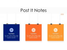 Lead Ranking Mechanism Post It Notes Ppt Powerpoint Presentation Infographics Picture