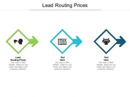 Lead Routing Prices Ppt Powerpoint Presentation Pictures Styles Cpb