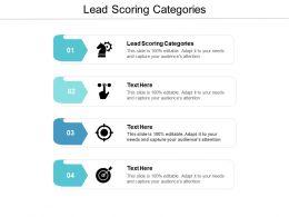 Lead Scoring Categories Ppt Powerpoint Presentation Summary Portfolio Cpb