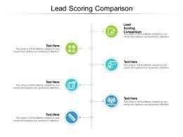 Lead Scoring Comparison Ppt Powerpoint Presentation Summary Smartart Cpb