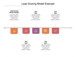 Lead Scoring Model Example Ppt Powerpoint Presentation Pictures Outfit Cpb