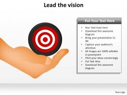 lead the vision powerpoint slides presentation diagrams templates