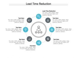 Lead Time Reduction Ppt Powerpoint Presentation Styles Portrait Cpb