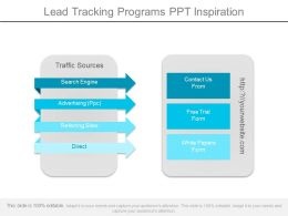 lead tracking programs ppt inspiration